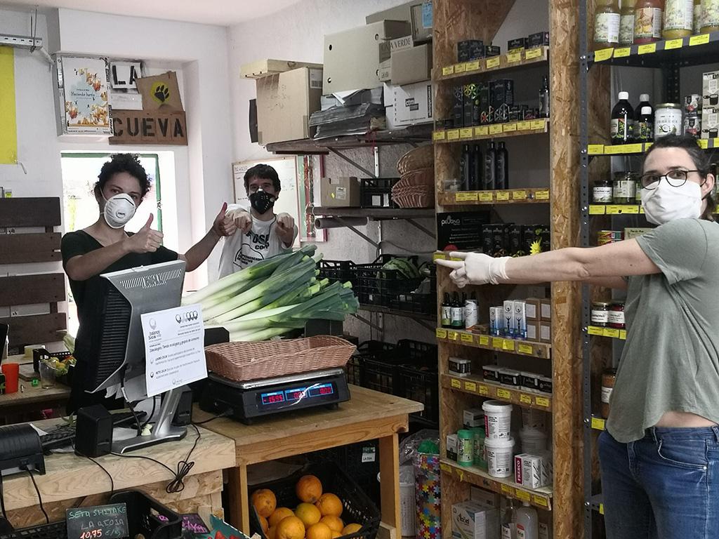 Medidas seguridad, higine y limpieza en la tienda 2D
