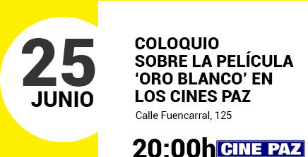 Evento Coloquio Oro Blanco