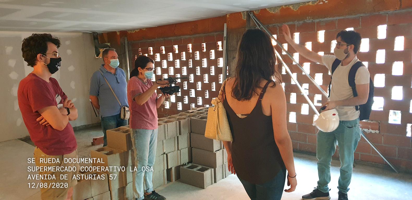 Grabación del documental de LA OSA en Avda. de Asturias 57