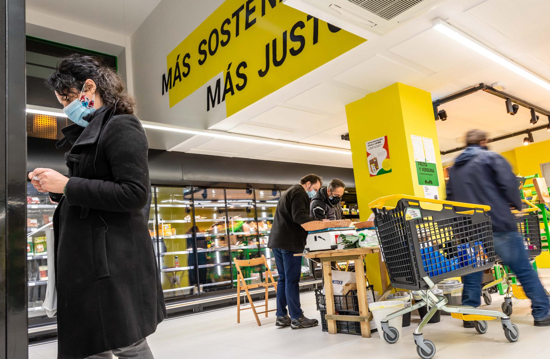 2020 Inauguración del Supermercado en Avda. de Asturias