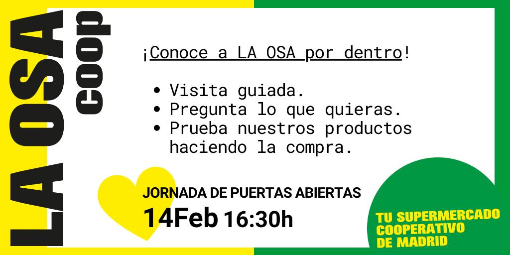 Jornada Puertas Abiertas 14/02/2021